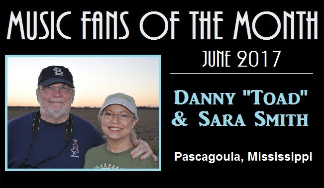 music fans of the month toad and sister sara