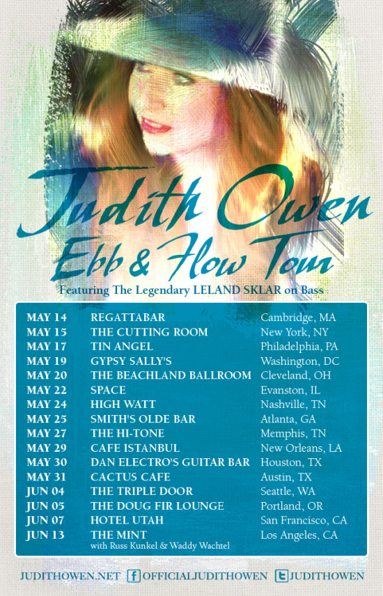 Judith Owen Tour