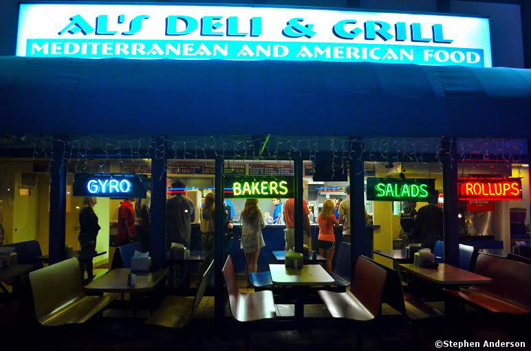 Al's Deli and Grill in Birmingham, AL (Local Late Night Favorite)