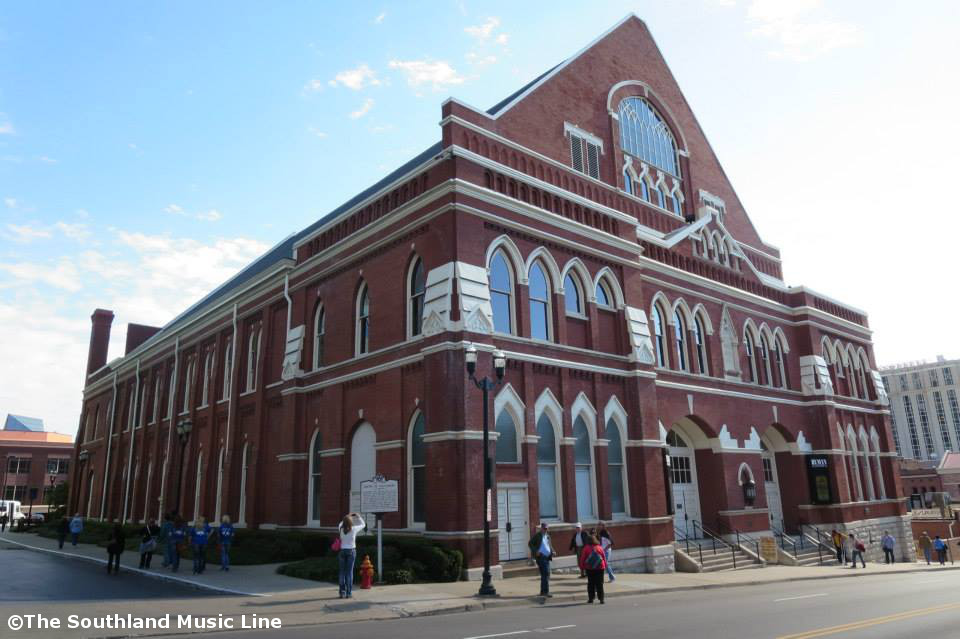 The Ryman in Nashville, TN
