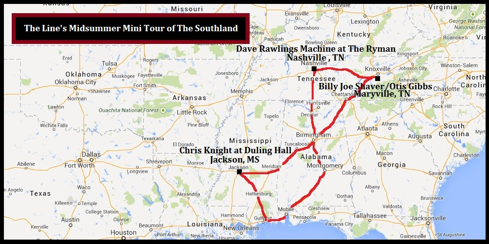 The Line's Midsummer Mini Tour of the Southland