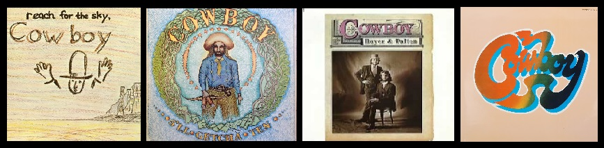 Cowboy's Album Covers