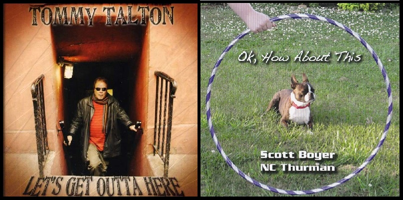 Talton, Boyer, Thurman Album Covers
