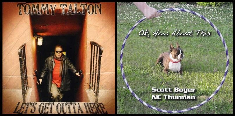 Talton, Boyer, Thurman Album Covers