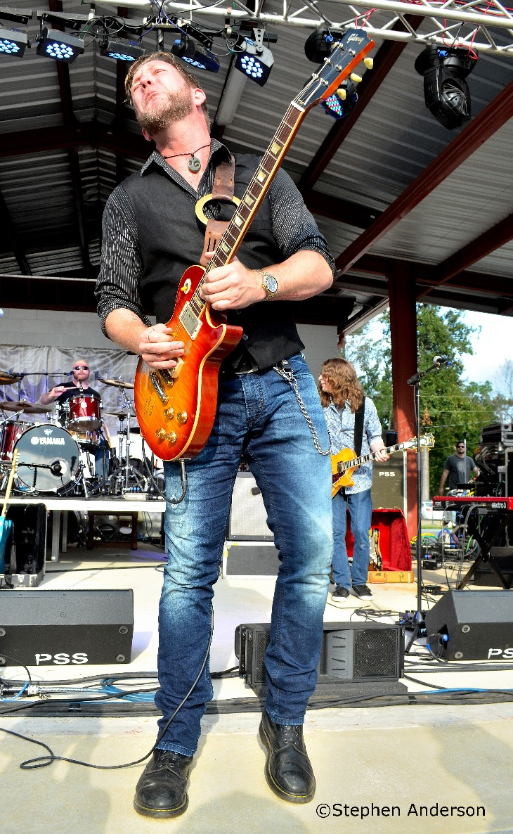 Devon Allman at Bogalusa Blues Festival