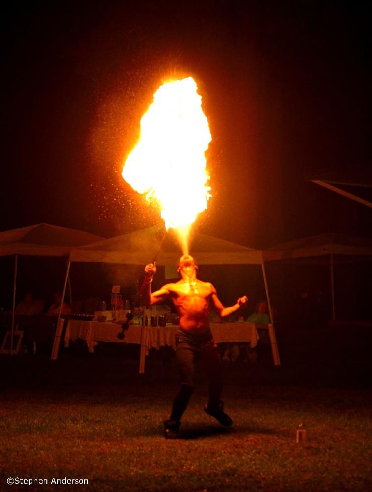 Fire Performance Artist