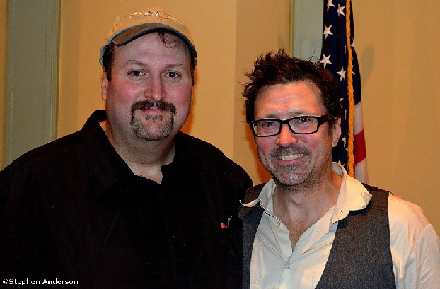 Johnny with Will Kimbrough