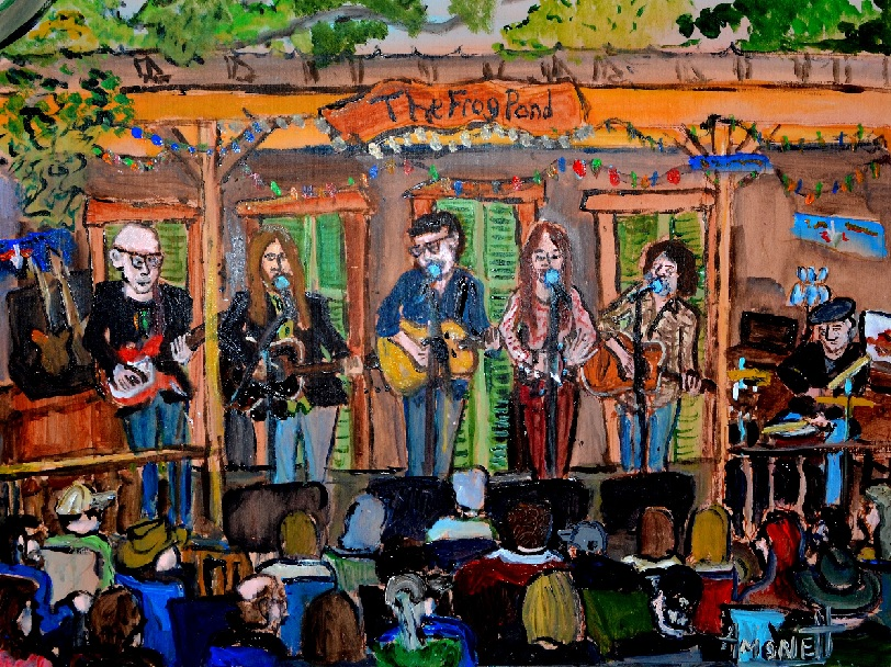 Willie Sugarcapps Art by Robby Amonett