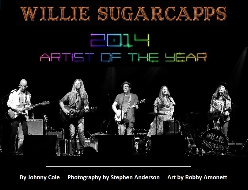 Willie Sugarcapps Artist of the Year 2014