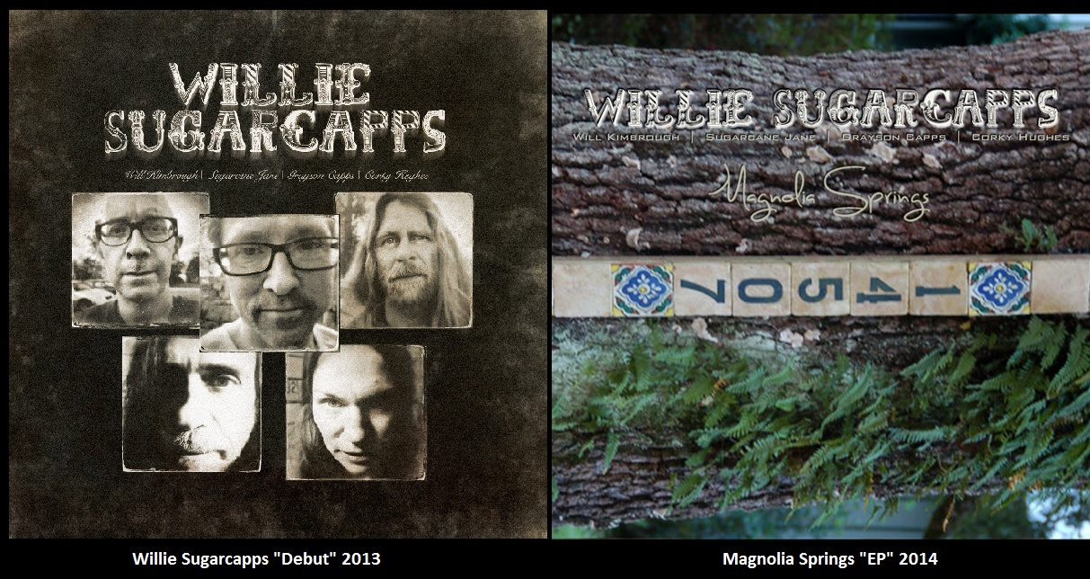 Willie Sugarcapps Album and EP Covers