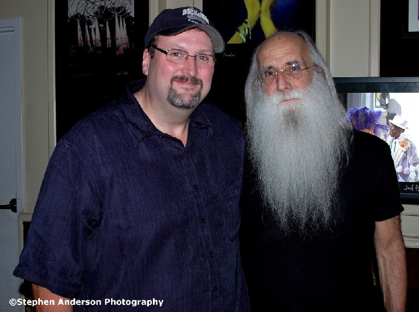 Me with Leland Sklar
