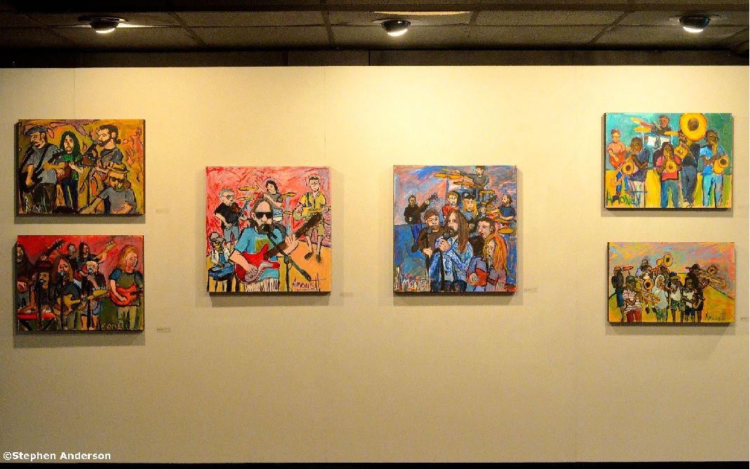Robby Amonett Art Exhibit
