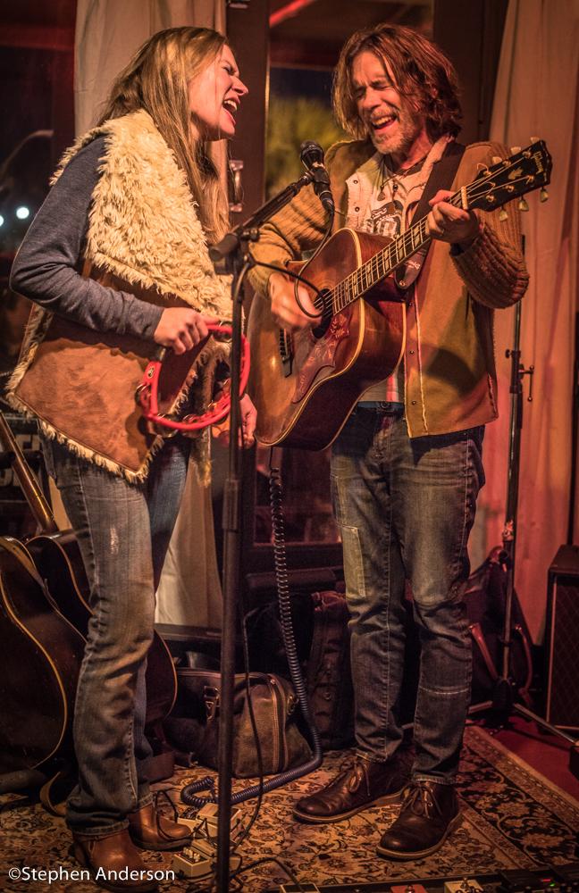 Savana and Anthony Crawford at Jacks