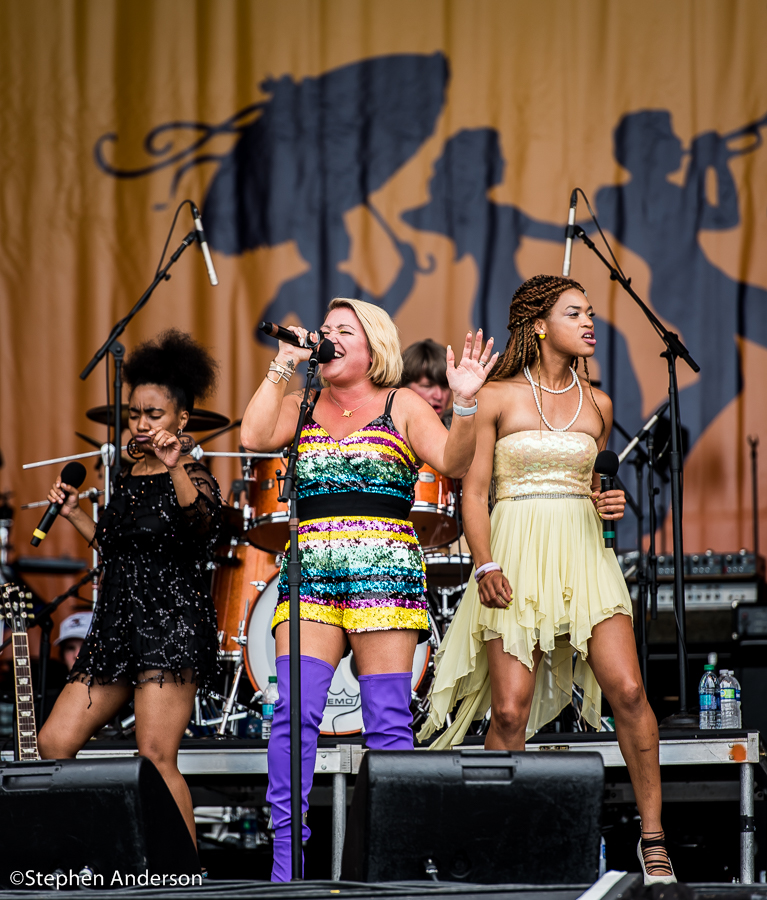 Darcy Malone & The Tangle On The Acura Stage At Jazz Fest 2018